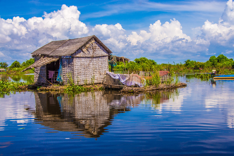 Floating Village on Tonle Sap, Cambodia